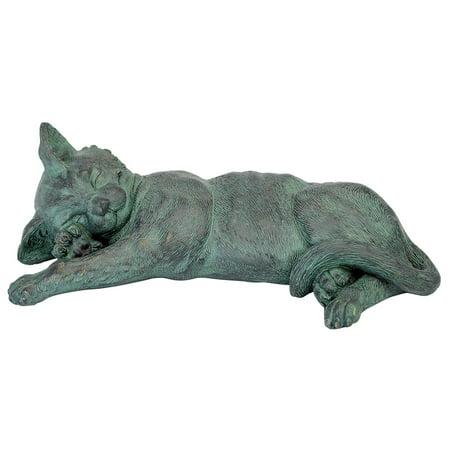 Sleeping Kitty Cat Kitten (Kitty Cat Statue)