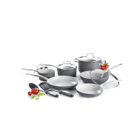 GreenLife Ceramic Non-Stick 12 Piece Cookware Set Only $50.99
