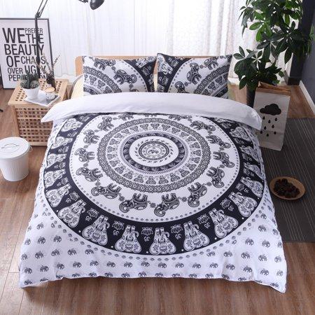 3Pcs/Set European lines bedding set queen double bed size bedclothes Comforter/Duvet/Quilt cover sheet pillowcase bed sets