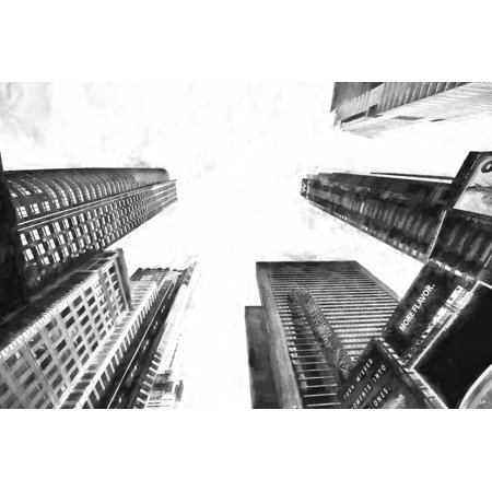 More Flavor in Times Square Print Wall Art By Philippe Hugonnard