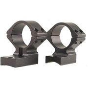 """Talley 950706 Hi Rings and Base Set Weatherby Lightweight, 1"""" Style, Black"""