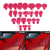 24PCS Glue Puller Tabs Auto Paintless Dent Removal Tool Dent Repair Kits