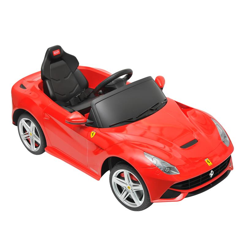 Ferrari F12 Kids 6v Electric Ride On Toy Car w/ Parent Remote Control - Red