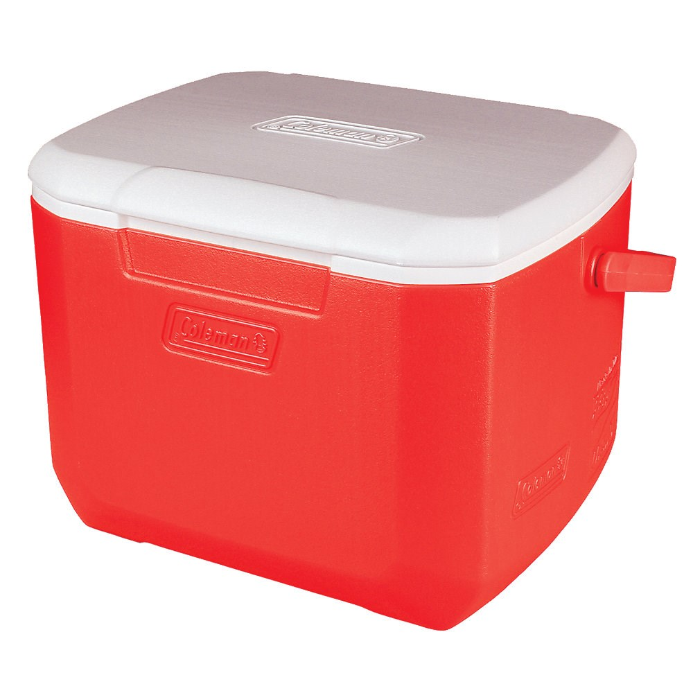 Coleman 16 Quart Excursion Personal Cooler Red 3000001989 SKU: 3000001989 with Elite Tactical Cloth