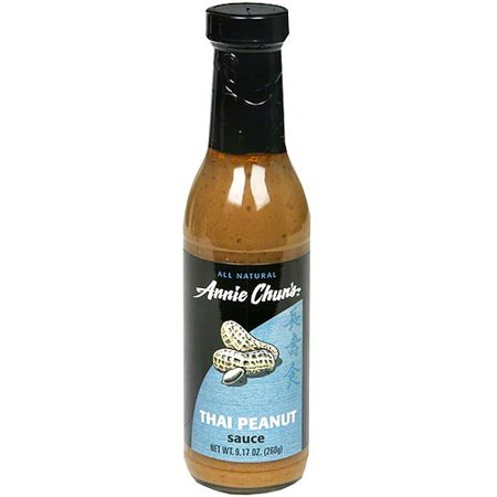 Annie Chun's Thai Peanut Sauce, 9.2 oz (Pack of 6)