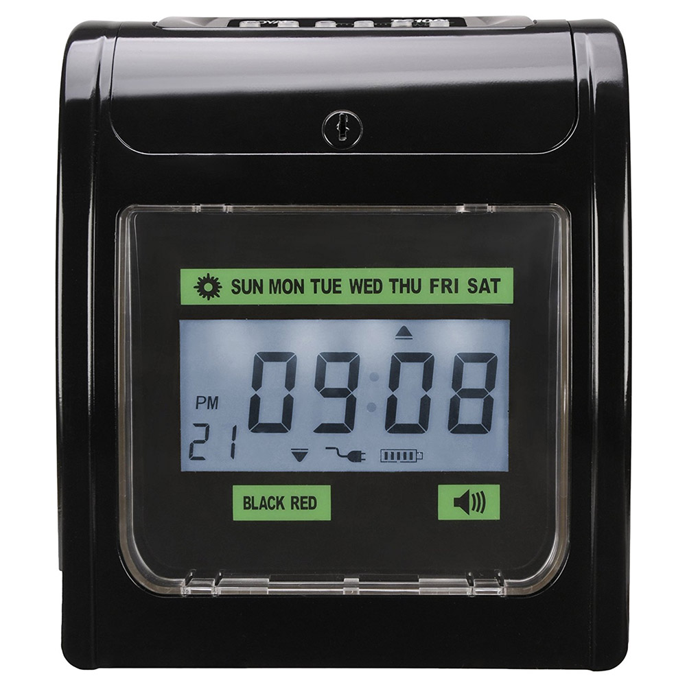 Royal TC100 Plus Time Clock Black by Royal