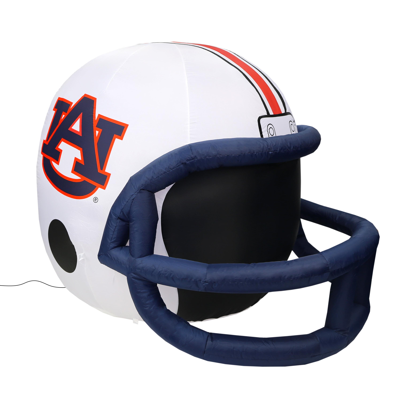 NCAA Auburn Tigers Team Inflatable Lawn Helmet, White, One Size
