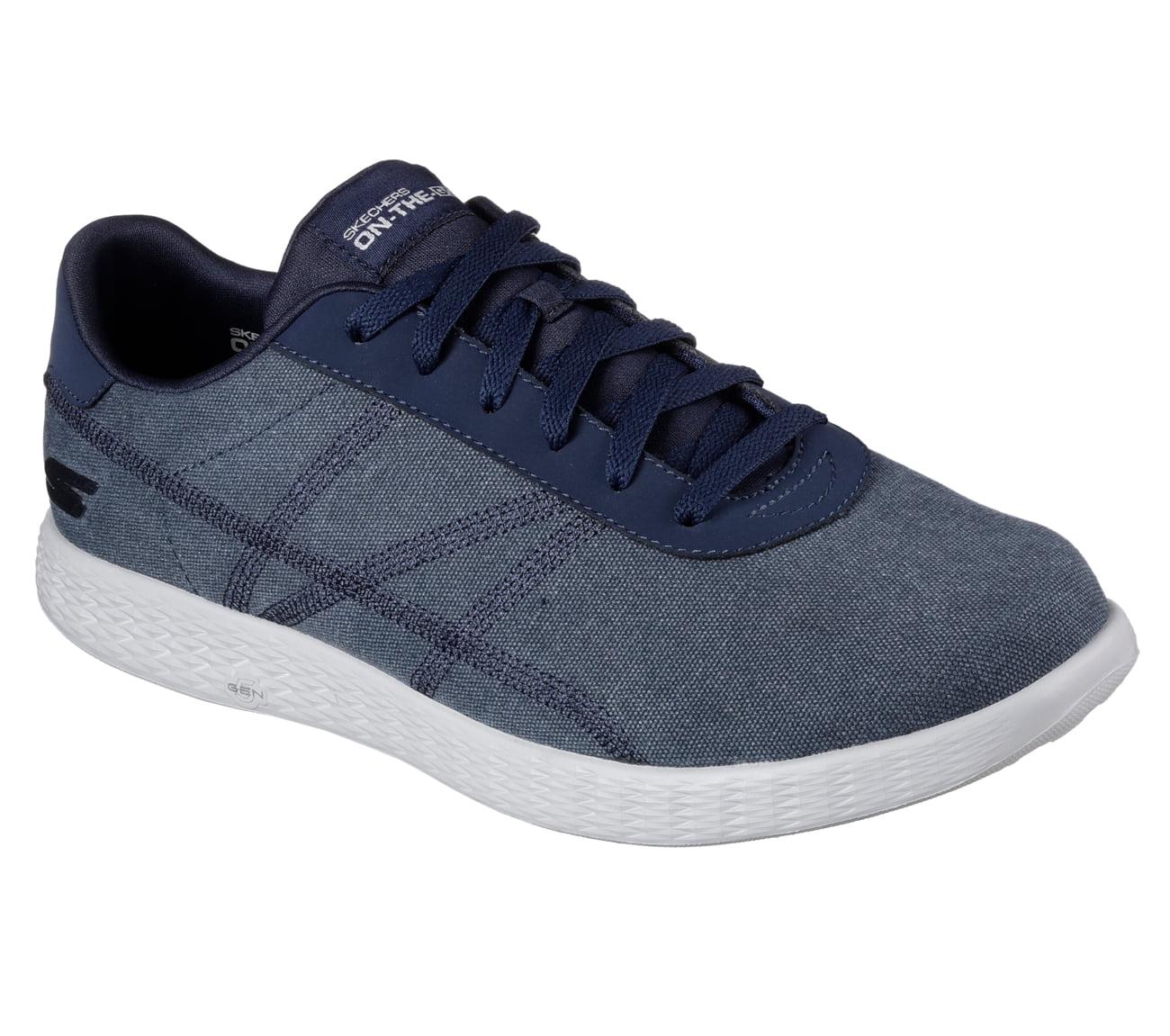Skechers 53775NVGY Men 's ON THE GO GLIDE - EAZE Walking Shoes