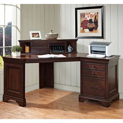 Turnkey Products LLC Broadway Corner Computer Desk with Hutch