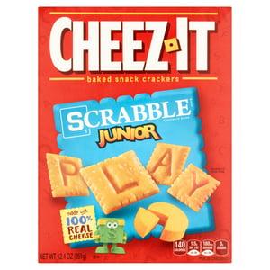 Cheez-It Baked Snack Crackers Scrabble Junior Box