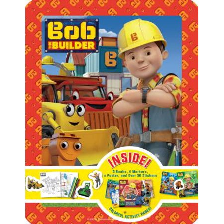 Bob the Builder Collector's Tin (Bob The Builder Scoop Saves The Day)