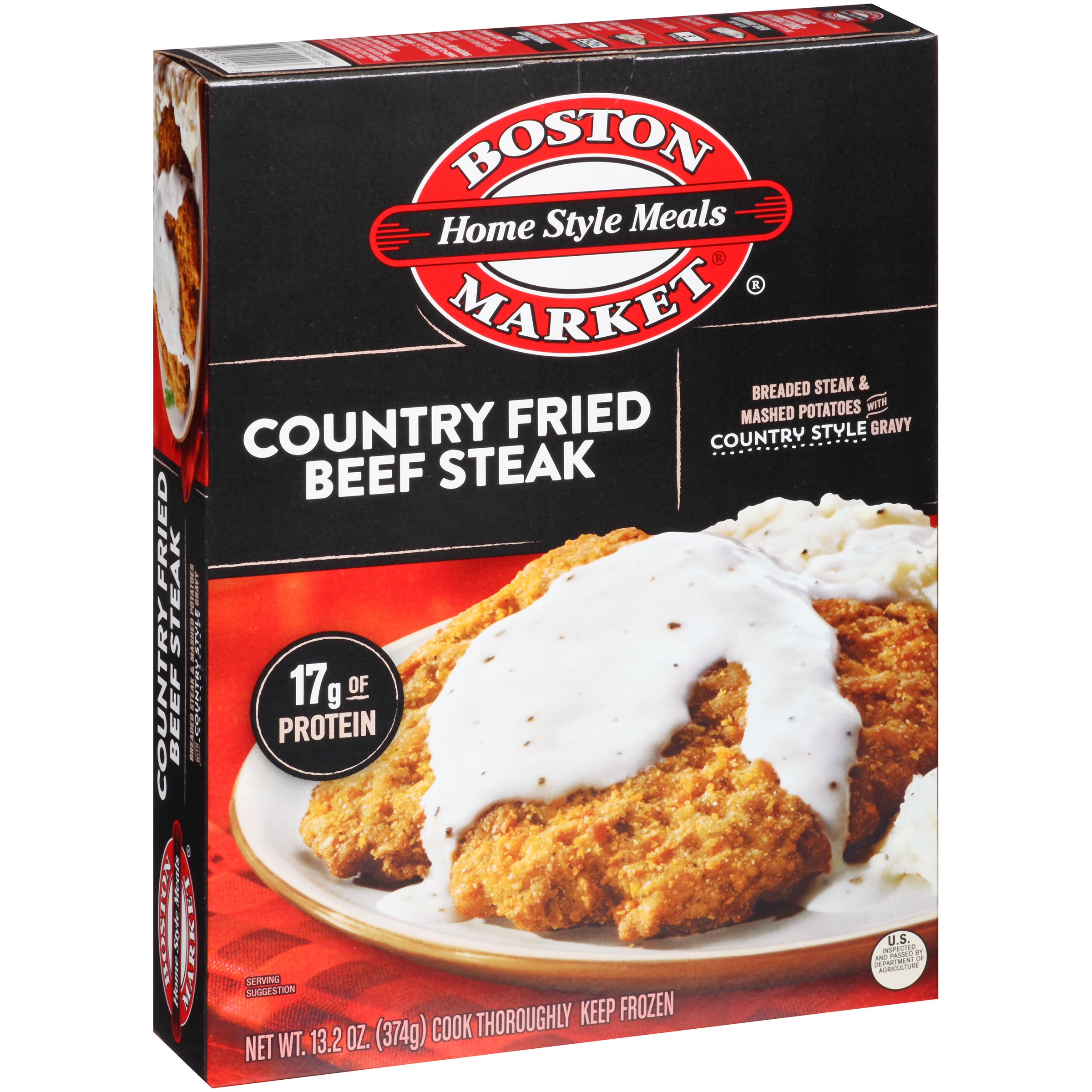Boston Market�� Home Style Meals Country Fried Beef Steak 13.2 oz. Box