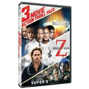 3-Movie Action Thrill Pack Deep Impact   World War Z   Super 8 by Paramount