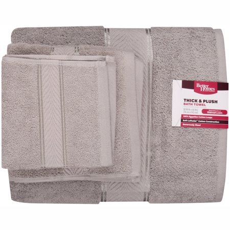 Better Homes And Gardens 6 Piece Towel Set Silver Best Bath Towels