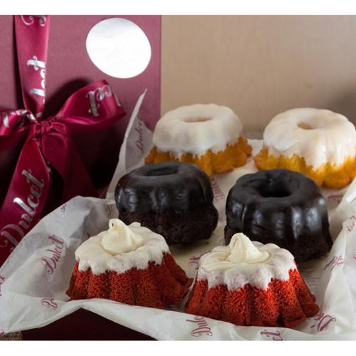 Mini Bundts Assortment Gift Basket
