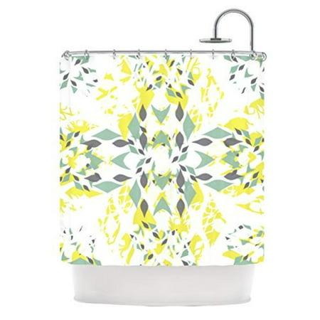 Kess Inhouse Miranda Mol Springtide Shower Curtain  69 By 70 Inch
