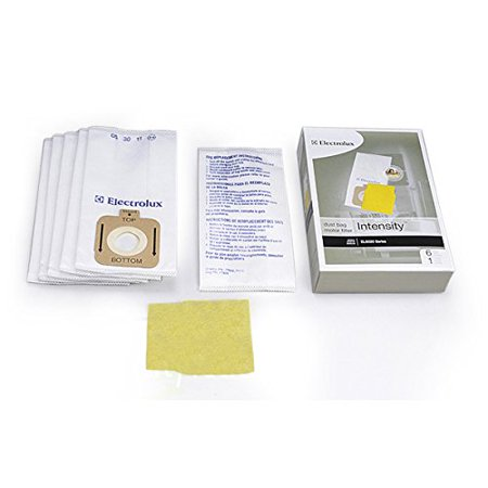 Intensity Vacuum Bags (Eureka, Electrolux EL5020, Intensity Vacuum Cleaner 6PK Paper Bags Plus 1 Pre Motor Filter #)