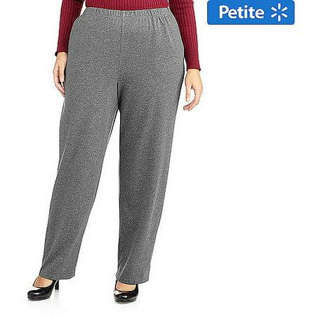 f5f17c40ad568 White Stag - Women s Plus-Size Petite Pull On Knit Pants - Walmart.com