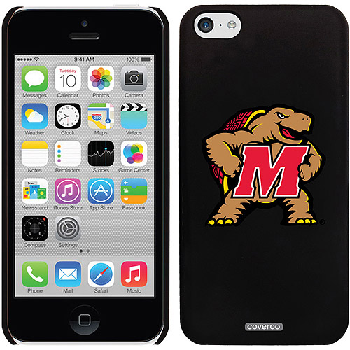 Coveroo Maryland Mascot Design Apple iPhone 5c Thinshield Snap-On Case
