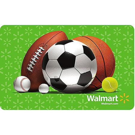 Sports Walmart Gift Card