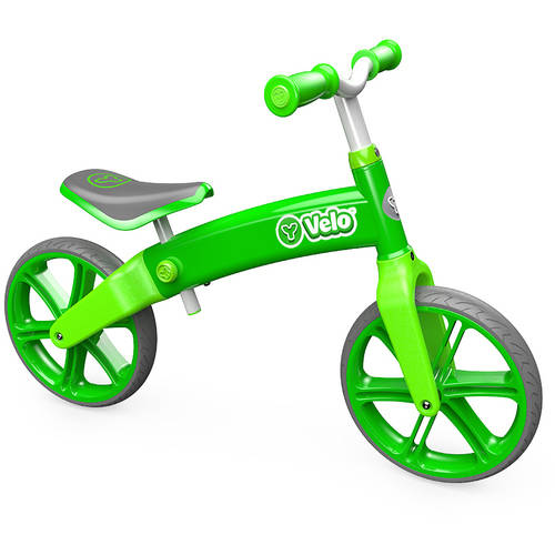 Yvolution Y Velo Balance Bike, Green 4L