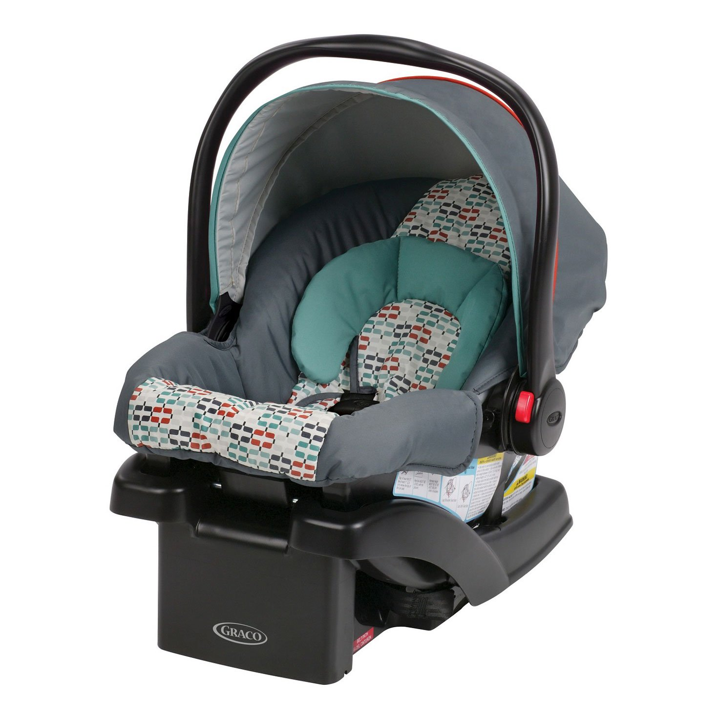 Graco SnugRide Click Connect 30 4-30 Lb. Baby Adjustable Infant Car Seat, Barlow