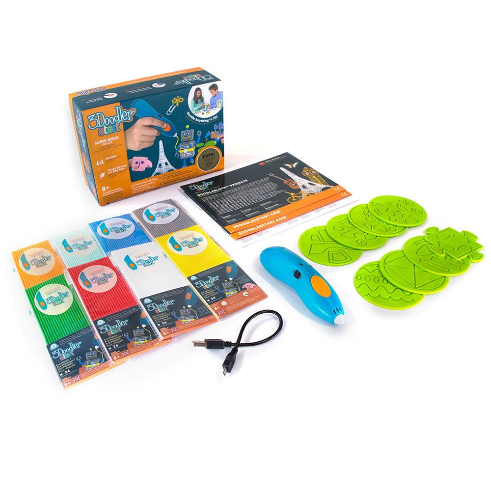 3Doodler Start Mega Box 3D Printing Pen Set for Kids