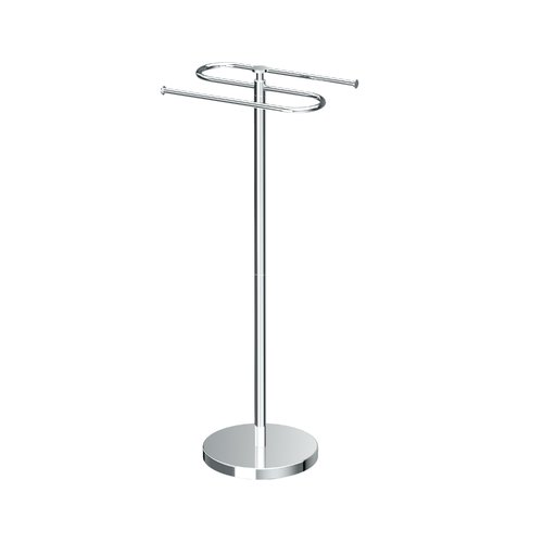 Gatco Modern Floor Standing Towel Stand by Gatco