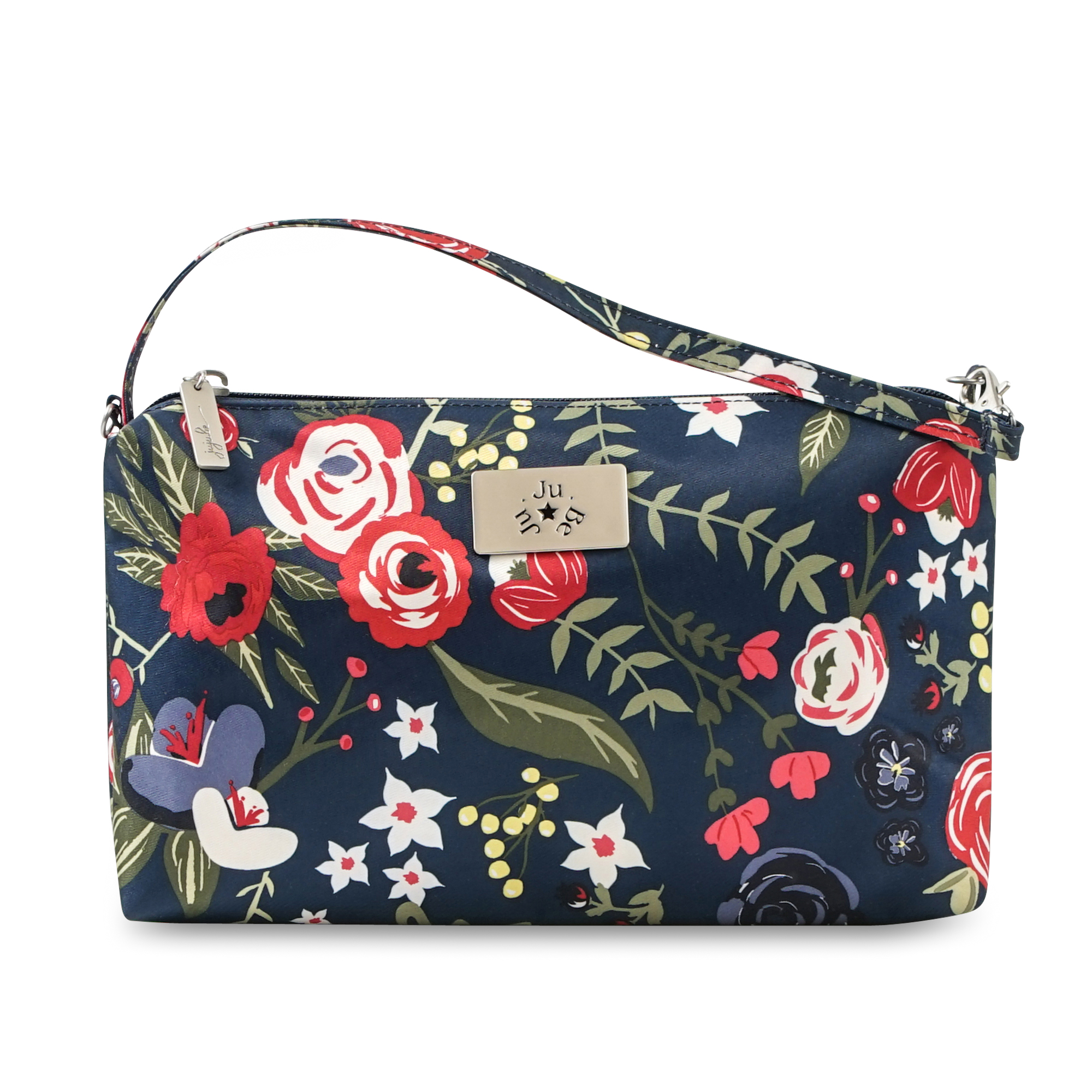 Jujube Be Quick Wristlet in Midnight Posy