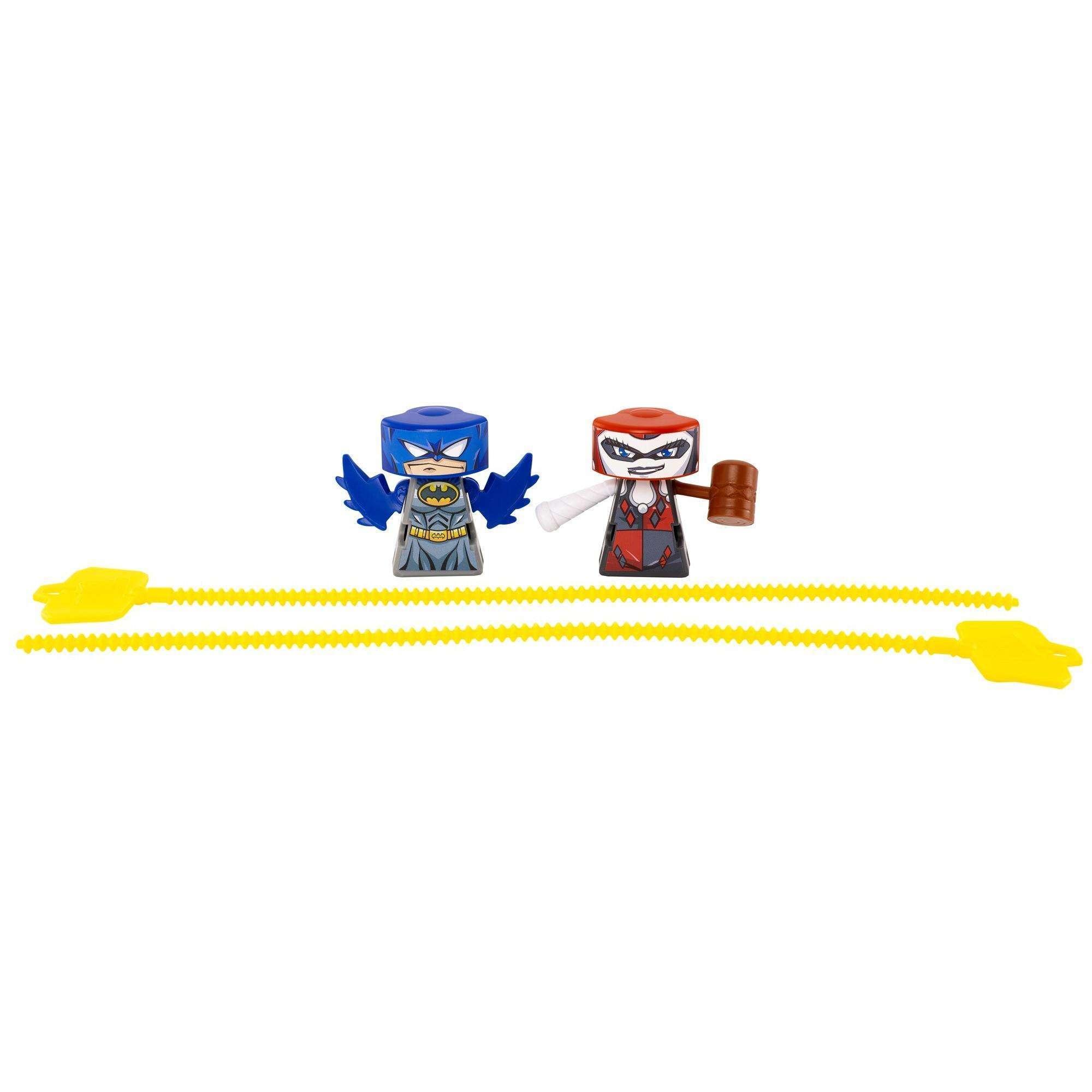 VS Rip-Spin Warriors Batman VS. Harley Quinn 2-Pack by Mattel