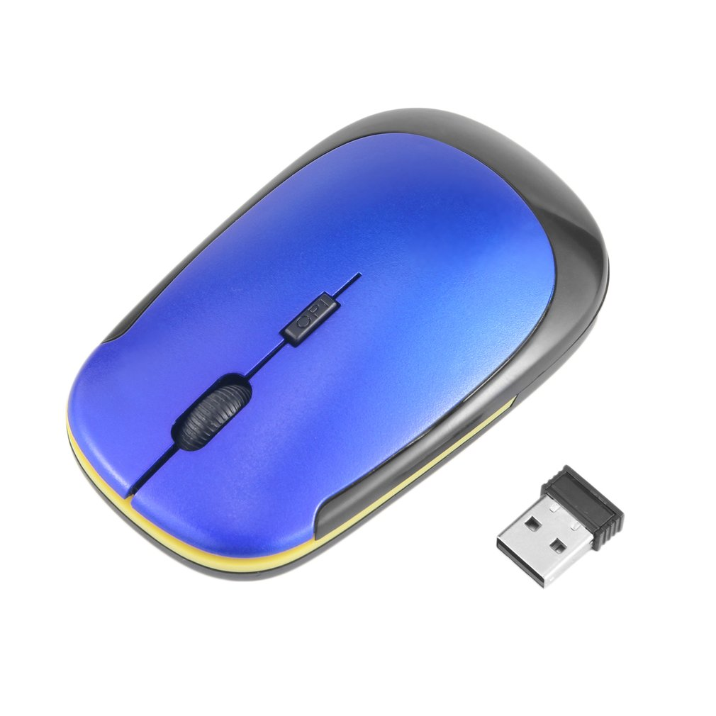 Maikou 2.4G Wireless Mouse USB Receiver Ultra-thin Optical Mouse for Laptop PC