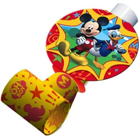Mickey Mouse 'Fun and Friends' Blowouts / Favors (8ct) (Mickey Mouse And Friends Birthday Party Supplies)