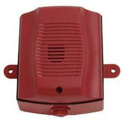 SYSTEM SENSOR HRK Outdoor Horn,Red