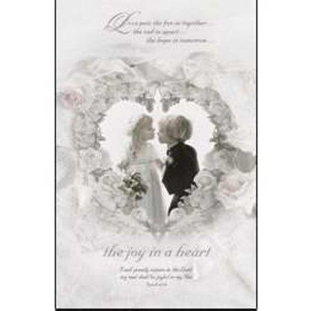 Warner Press 667419 Bulletin - W-Joy In A Heart](Wedding Bulletins)