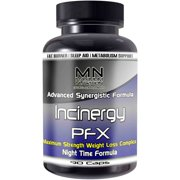 Maximum Nutrition Incinergy PFX Nighttime Weight Loss Complex Dietary Supplement, 90 Ct