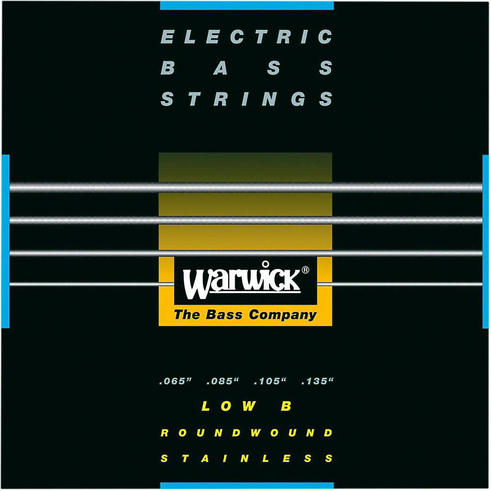 Warwick Black Label 4-String Low B Nickel Bass Strings