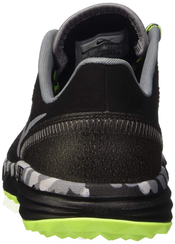 bbb7617d7ea9 Nike - Men s Nike Dual Fusion Trail 2 Running Shoe Black Volt Wolf Grey -  Walmart.com