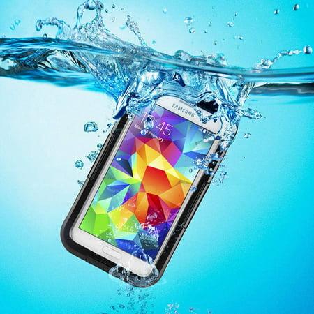 Samsung Galaxy S5/S4/S3 Full Body Sealed Waterproof Snowproof Shockproof Dirtproof Case