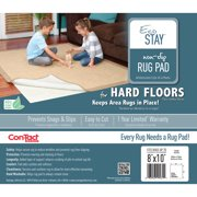 Con-Tact Rug Pad 8x10, Non-Slip Area Rug Pad, Eco-Stay for Hard Floors