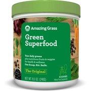 Amazing grass green superfood powder, original, 30 servings