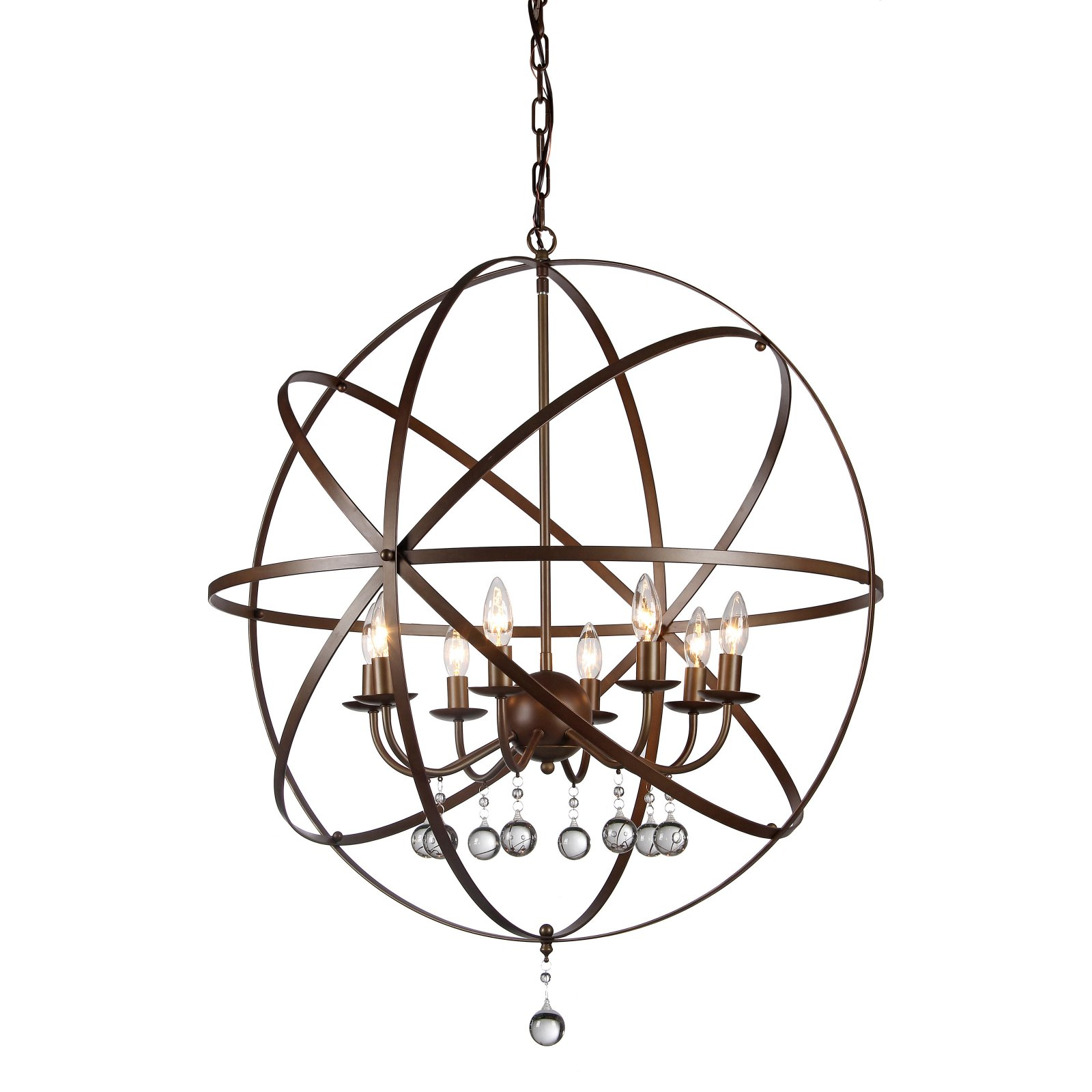 Warehouse of Tiffany Jossie 8 Light Candle-Style Chandelier