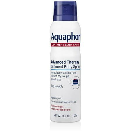 2 Pack - Aquaphor  Advanced Therapy Ointment Body Spray 3.72 oz