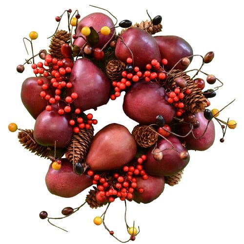 The Holiday Aisle 13'' Pear Wreath