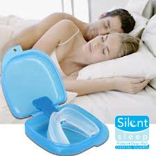 Silent Sleep Teeth Mouth Guard - Stop Teeth Grinding and Clenching - Best Teeth Grinding Solution on the Market 100% Satisfaction
