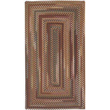 Bangor Concentric Braided Area Rug Concentric Braided Wool Rugs