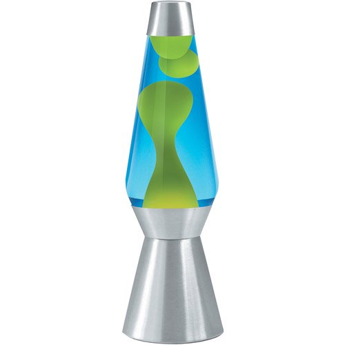 Cheap Lava Lamps Classy Lava The Original 60Inch Silver Base Grande Lamp With Yellow Wax