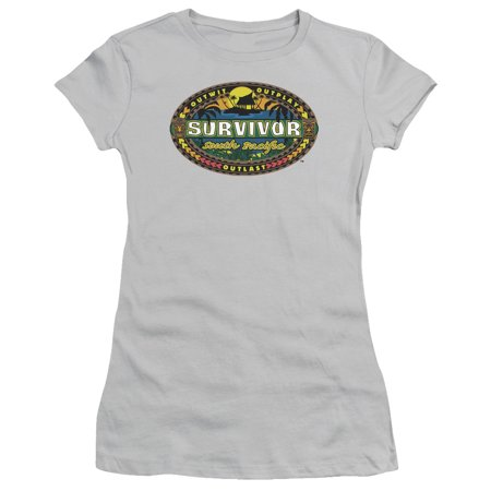 Survivor Cbs Tv Series South Pacific Juniors Sheer T Shirt Tee