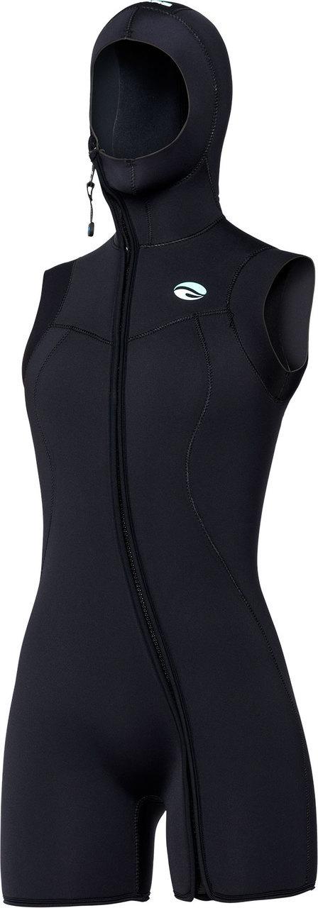 b55908bfeb Bare Sport Step-In Hooded Vest 7mm Wetsuit Women s Scuba Diving -  Walmart.com