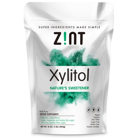 Xylitol Sweetener By Zint   16 Ounces