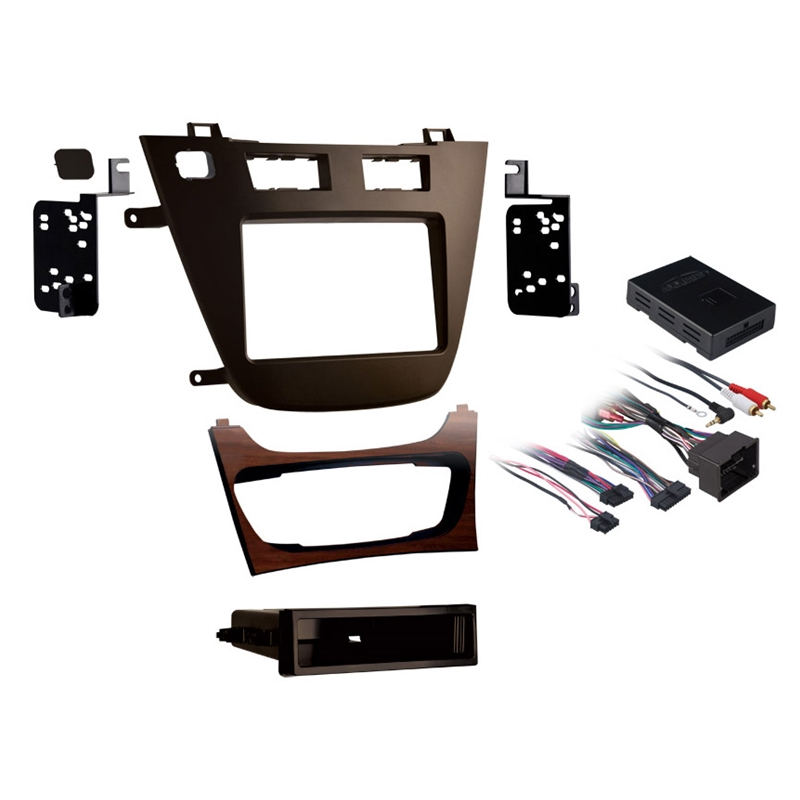 Metra 99-2023BR Brown Single/Double DIN Dash Kit for Select 2011-up Buick Regal